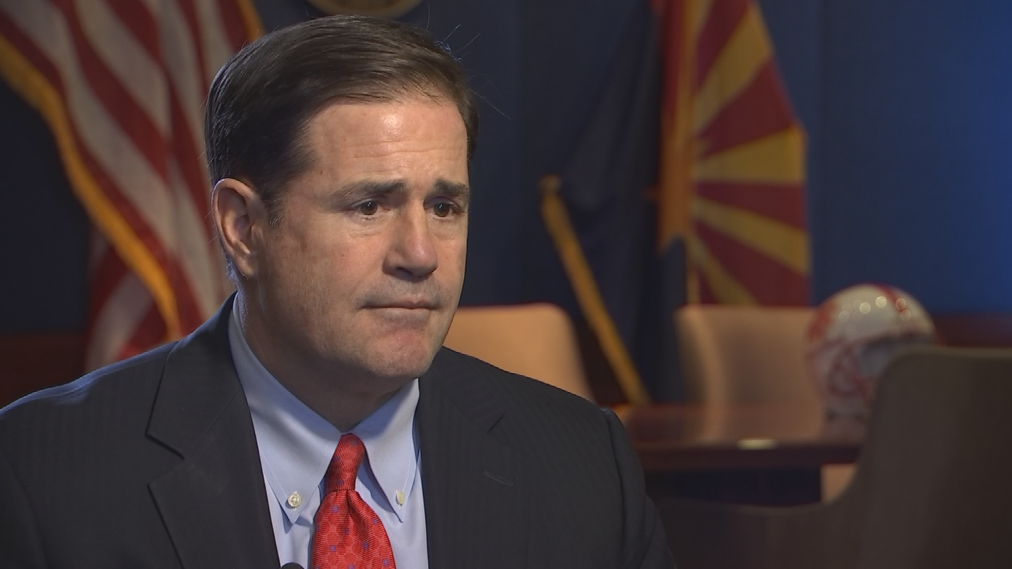 Gov. Ducey said he was open to the idea of appointing members of the Arizona Corporation Commission instead of voters choosing them. (Source: 3TV/CBS 5)