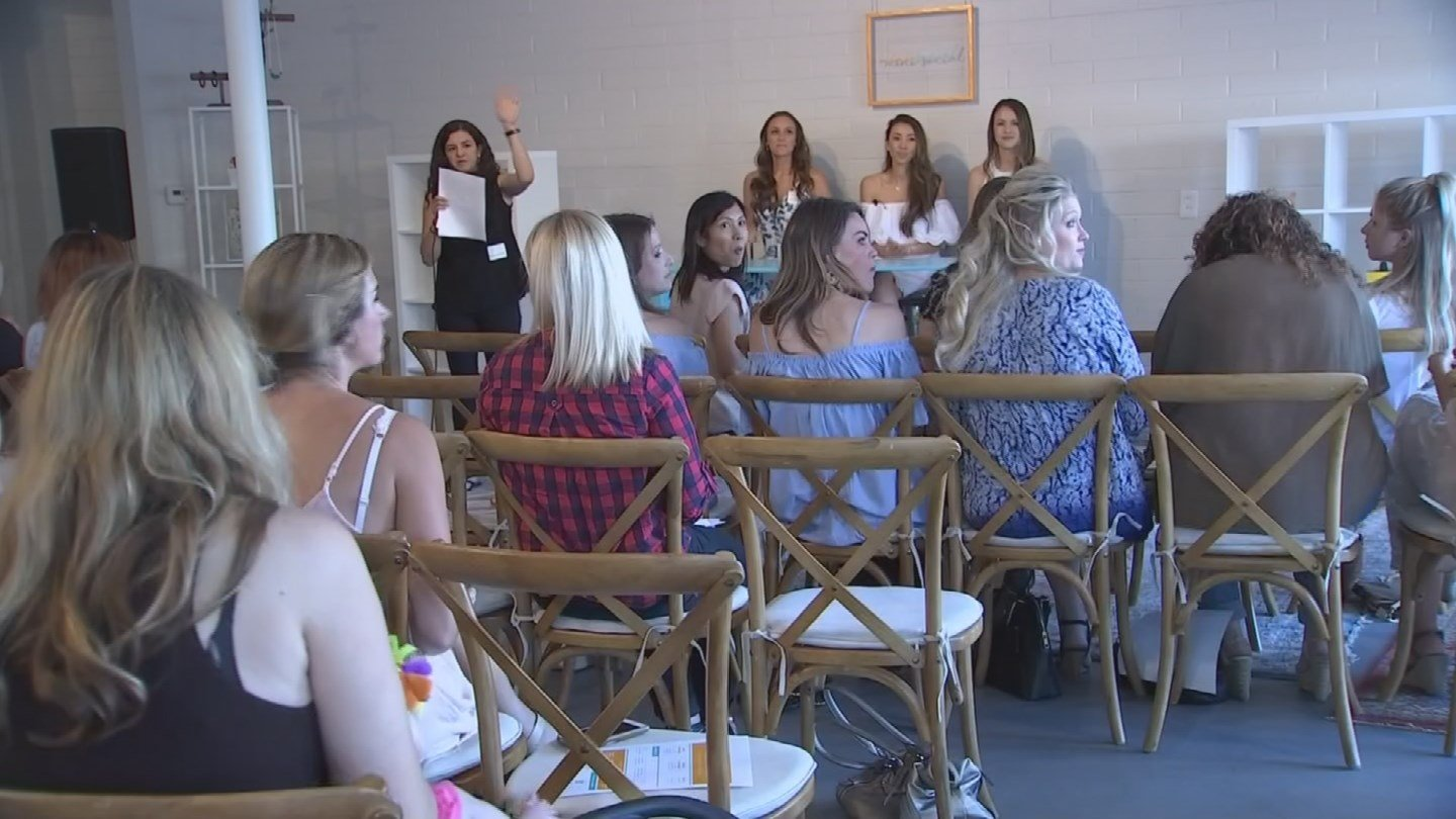 The goal of the event was to make connections and help mom's take their online presence to the next level. (Source: 3TV/CBS 5)