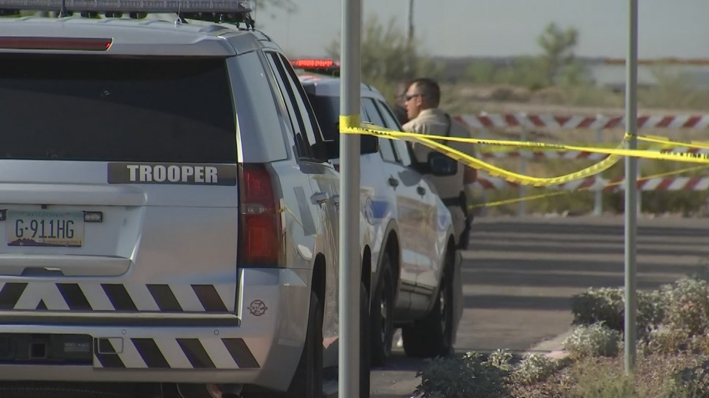 DPS and Buckeye police are currently investigating. (Source: 3TV/CBS 5)