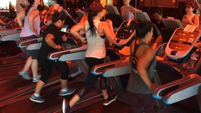 Kim Quintero and Olivia Fierro at OrangeTheory Fitness Central Phoenix. (Source: Kim Quintero)
