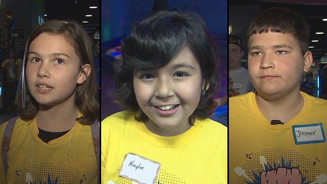Just a few of the dozens of children who celebrated surviving cancer in Gilbert. (Source: 3TV/CBS 5)