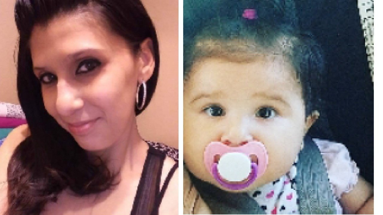 Deanna Grace Delgado and her daughter, Gracie Rose Stewart were last seen Sunday night after 6:00 p.m.(Source: Mesa Police Department)