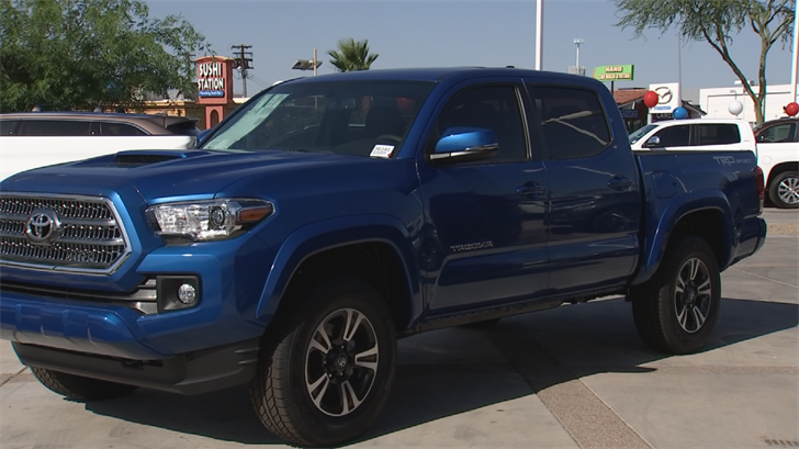 Trucks and SUVs are once again getting more popular. (Source: 3TV/CBS 5)