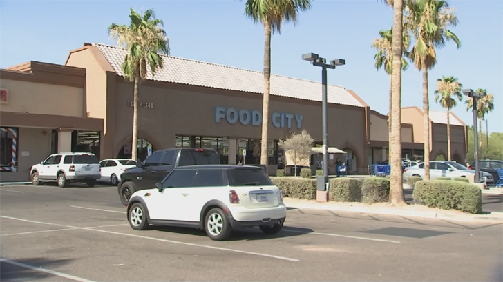 The baby was found in the parking lot of a Food City. (Source: 3TV/CBS 5)