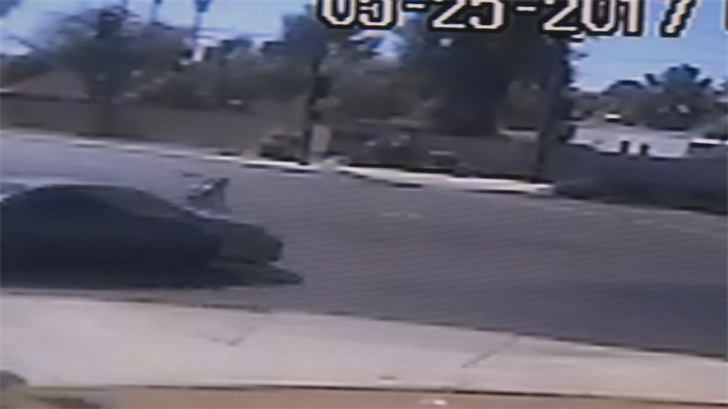 The teen said everything went black right before he got hit. (Source: 3TV/CBS 5)