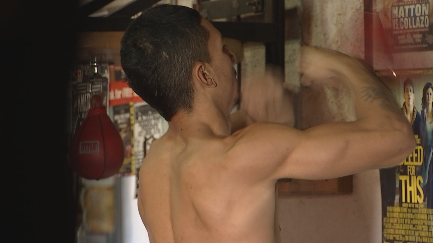 Courtney aims to be a featherweight champion one day. (Source: 3TV/CBS 5)