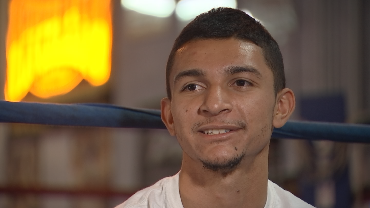 Trying to help his grandparents out financially, Courtney went pro afterjust three amateur fights. (Source: 3TV/CBS 5)