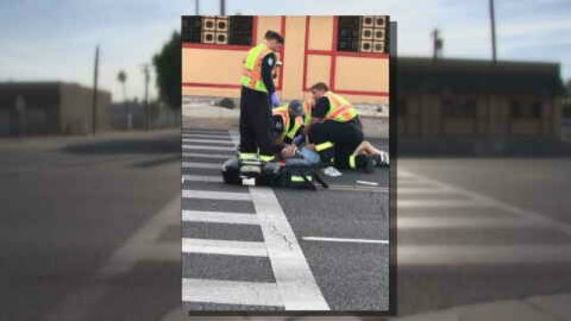 A man in a crosswalk was hit by a car and the victim wants changes made to the intersection. (Source: 3TV/CBS 5)