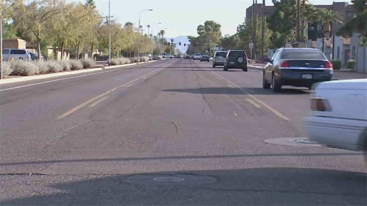 The idea was to make the road from 19th Avenue to 24th Street more pedestrian-friendly. (Source: 3TV/CBS 5)