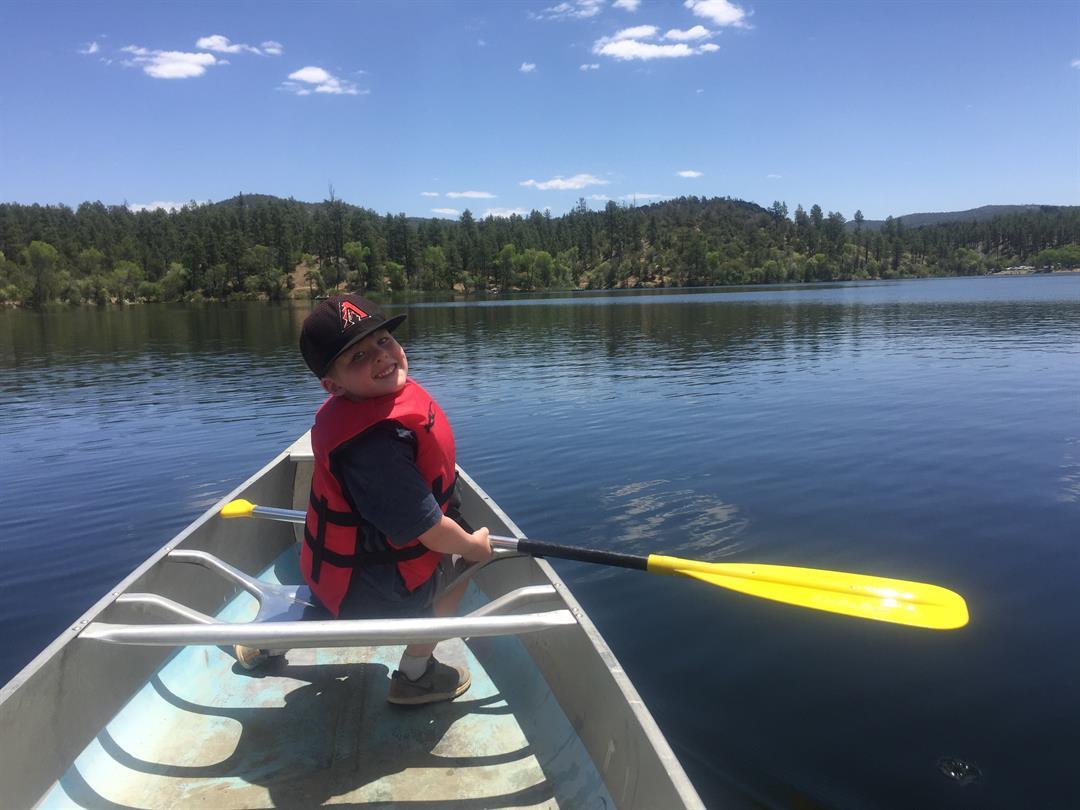 Fun on Lynx Lake near Prescott
