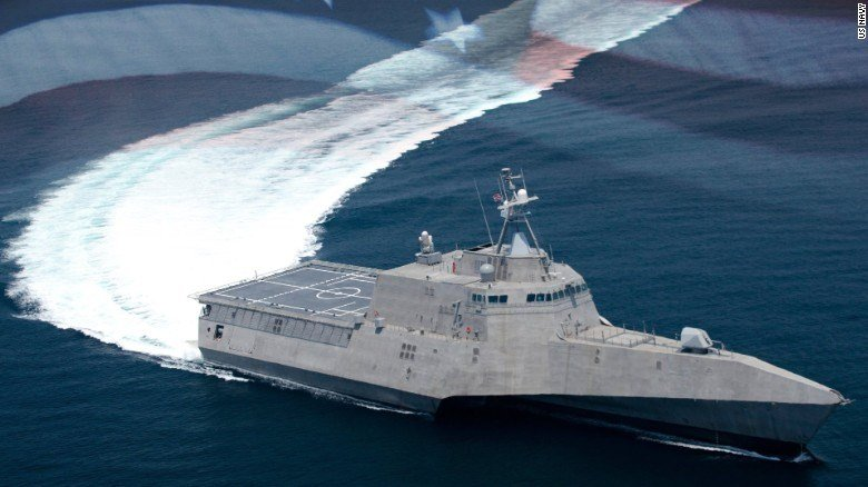 USS Gabrielle Giffords (Source: U.S. Navy via CNN)