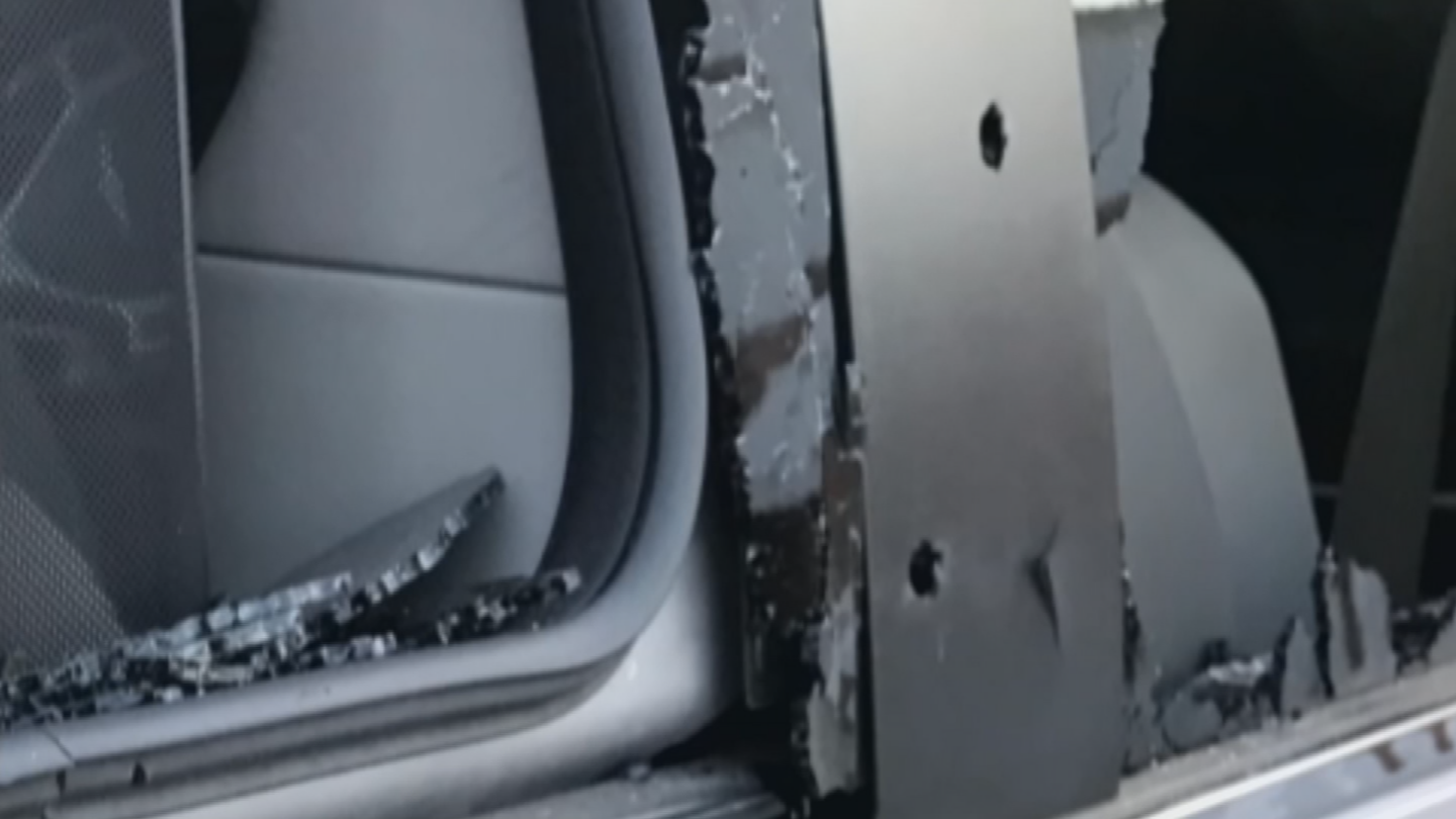 The suspect or suspects seemed to focus on shooting up Adrienne's disability van that is now in the shop for some rather expensive repairs. (Source: 3TV/CBS 5)