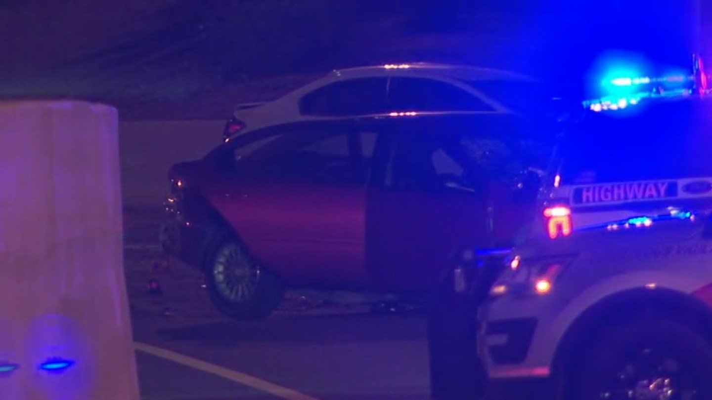 Two people died from a wrong-way crash on SR 51 and I-10. (Source: 3TV/CBS 5)