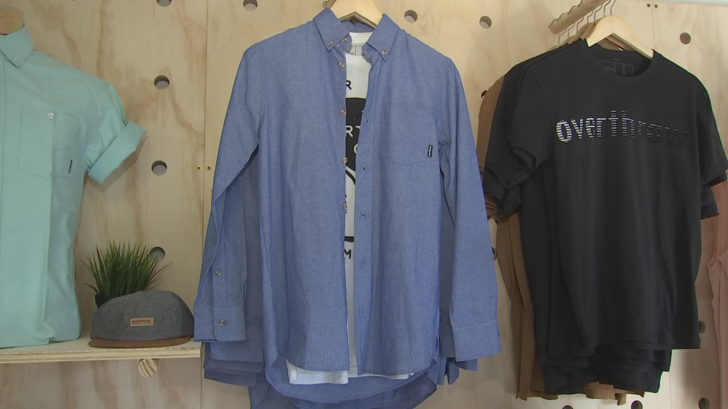 Overthrow is an outdoor lifestyle apparel brand based out of Phoenix, Arizona. (Source: 3TV/CBS 5)