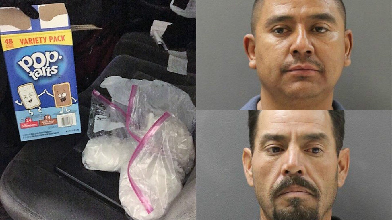 Five pounds of methamphetamine were uncovered from a Pop Tart box. (Source: Yavapai County Sheriff's Office)
