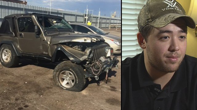 Michael Moretti survived a wrong-way crash nearly a year ago and the memory still haunts him. (Source: 3TV/CBS 5)