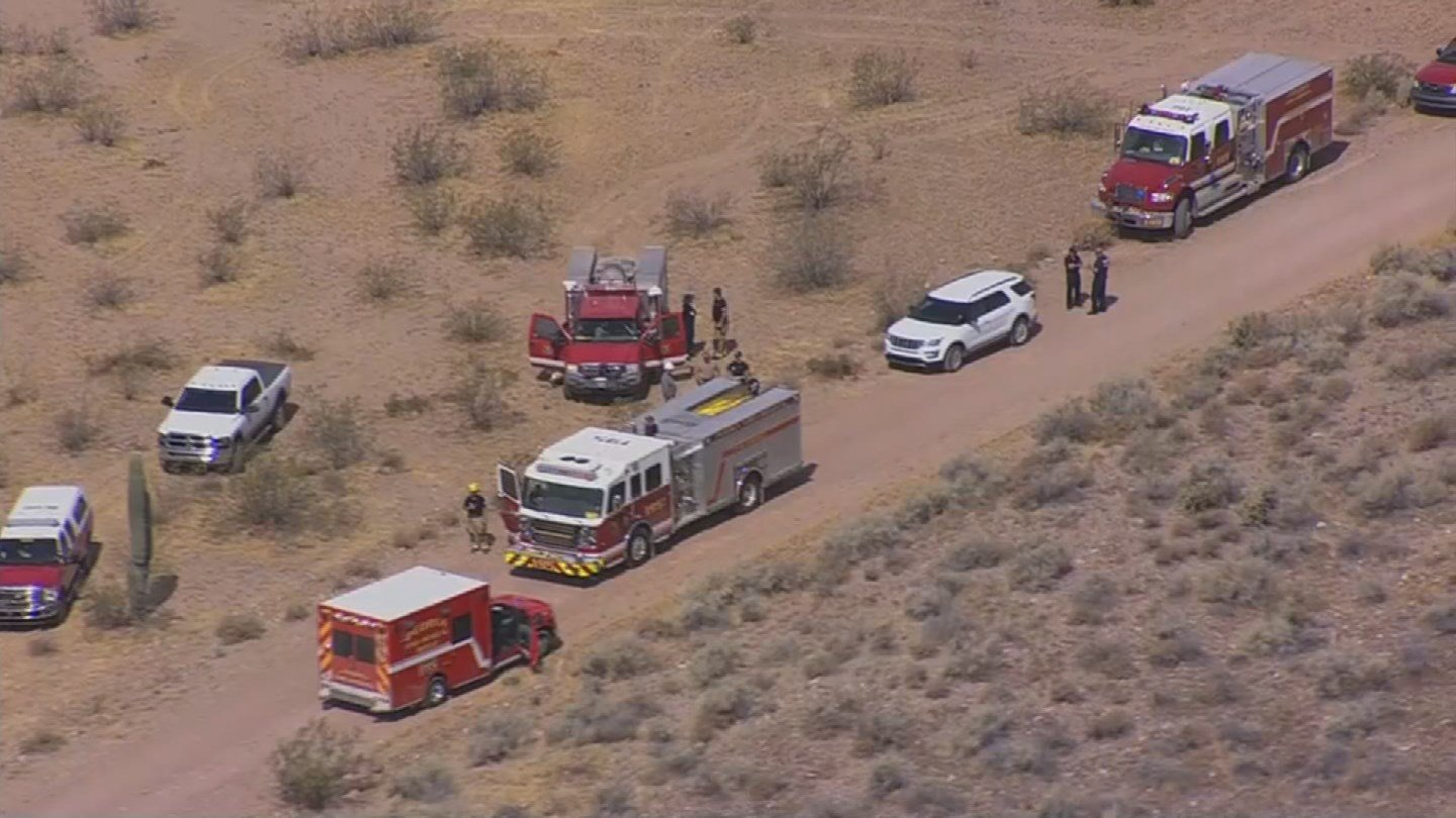 """A 40-year-old man was stung """"several hundred"""" times while working for the Central Arizona Project in Peoria on Wednesday morning, according to Tim Eiden with the Peoria Fire-Medical Dept. (Source: 3TV/CBS 5)"""