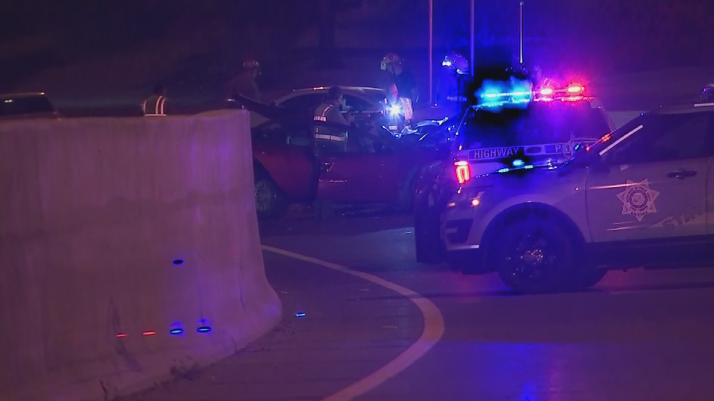 Teague pulled over far to the right and the driver in the red sedan whizzed by. (Source: 3TV/CBS 5)