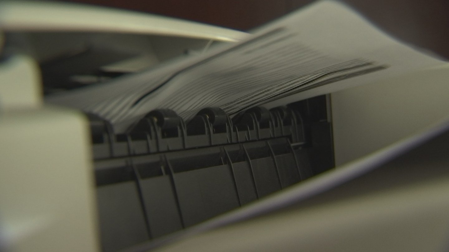 Hidden watermarks, or tracking dots, are not unique to classified documents; they could be on every page you print at home or work. (Source: 3TV/CBS 5)