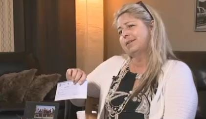 Tanya Christman, a Goodyear resident, said she received a $2,195 check that was part of a scam. (Source: 3TV/CBS 5)