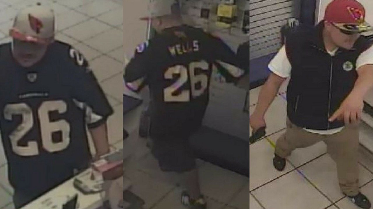 The 20 to 25-year-old suspect linked to the May 8 armed robbery. (Source: Silent Witness)