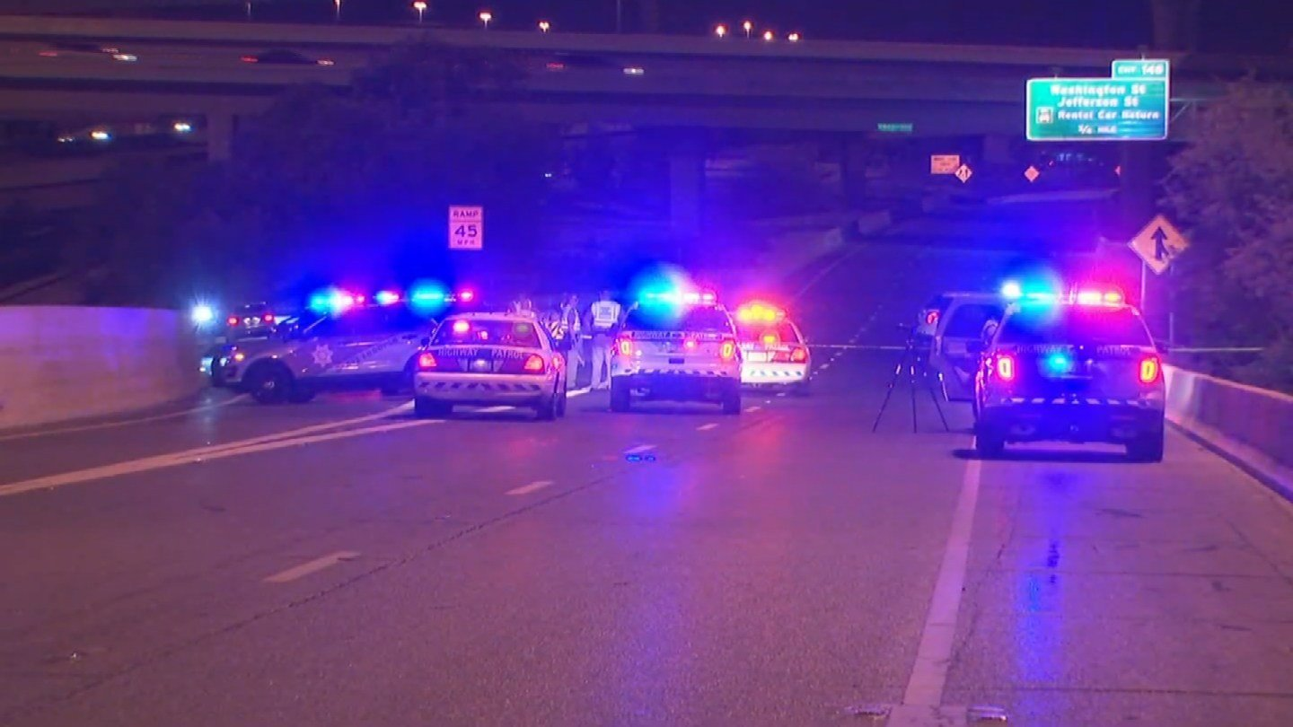Two people were killed Tuesday night. A third was injured. (Source: 3TV/CBS 5)