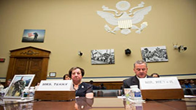 Terry and Heyer testify before the House Oversight and Government Reform Committee, which has been investigating the Bureau of Alcohol, Tobacco, Firearms and Explosives' Operation Fast and Furious for six years. (Source: Ben Moffat/Cronkite News)
