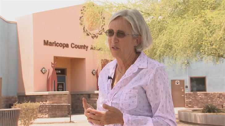 Maricopa County Animal Care and Control directorMary Martin believes with education, the family could provide a safe forever home to another shelter pet. (Source: 3TV/CBS 5)