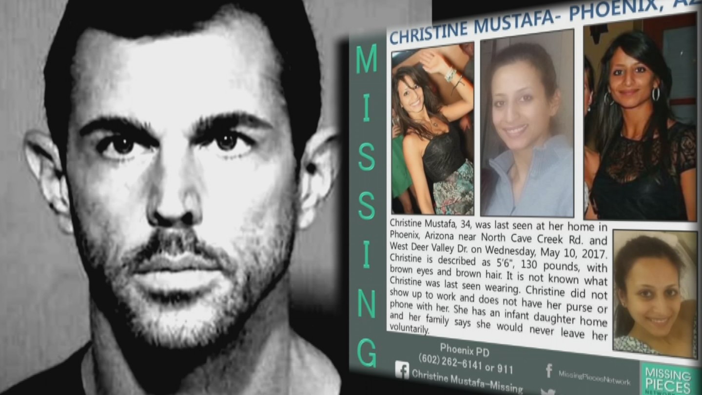 Robert Interval, Mustafa's boyfriend was arrested on charges related to her disappearance. (Source: 3TV/CBS 5)