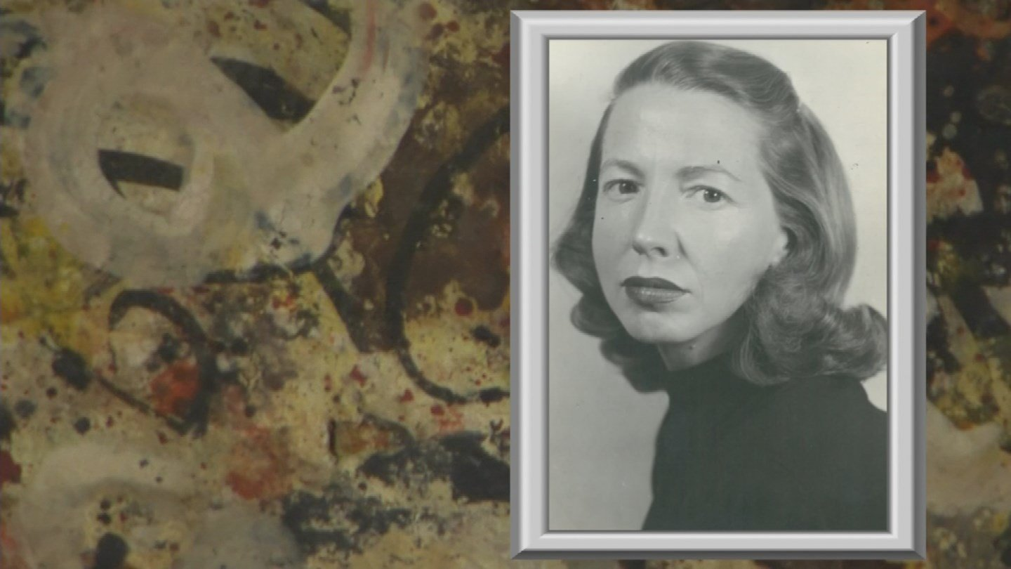 Art collectors have expressed interest in seeing a painting pulled from a Sun City garage that's billed as a lost Jackson Pollock. (Source: 3TV/CBS 5)