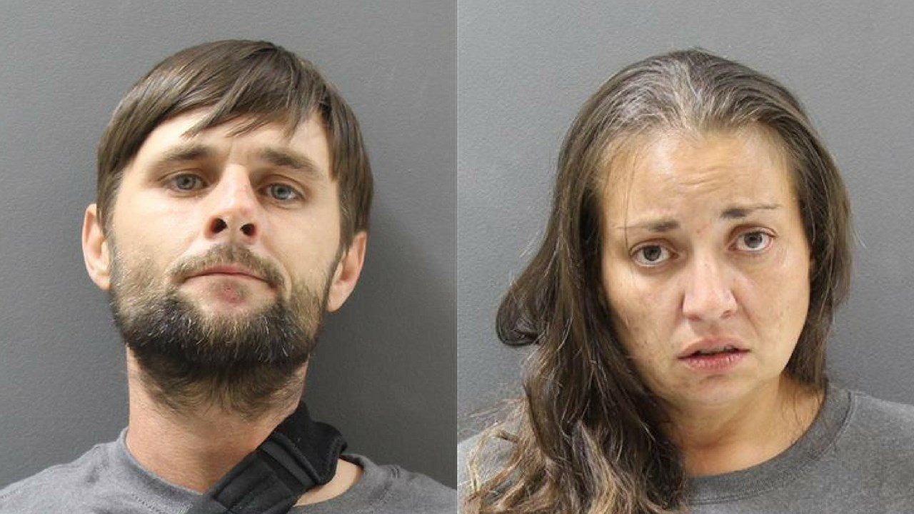 Daniel Terry, 36, and his girlfriend, 34-year-old Julianna Moreno were arrested after police found 10-year-old-boy beaten, bound and burned (Source: Yavapai County Sheriff's Office)