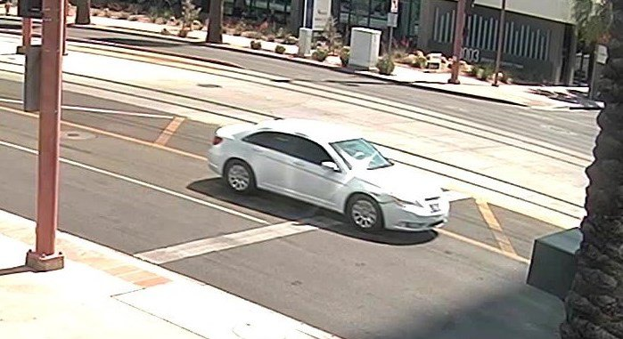The suspected hit-and-run vehicle. (Source: Phoenix Police Department)