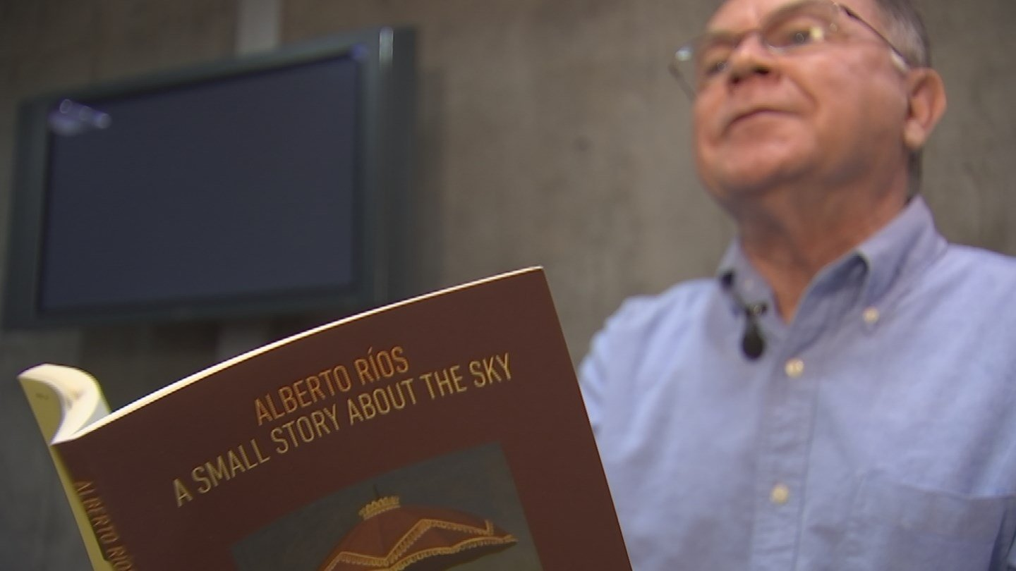 Fans at U2's current world tour are being treated to some poetry by ASU professor Alberto Rios (Source: 3TV/CBS 5)