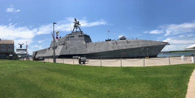 USS Gabrielle Giffords (Source: Gabrielle Giffords/Twitter)