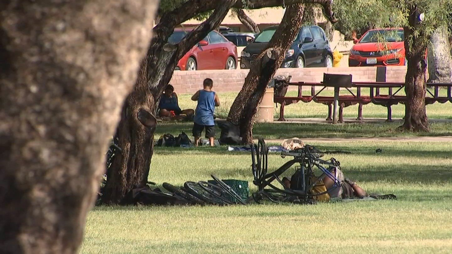 Tempe residents are asking the city council to assign a second police officer to parks to keep the homeless out. (Source: 3TV/CBS 5)
