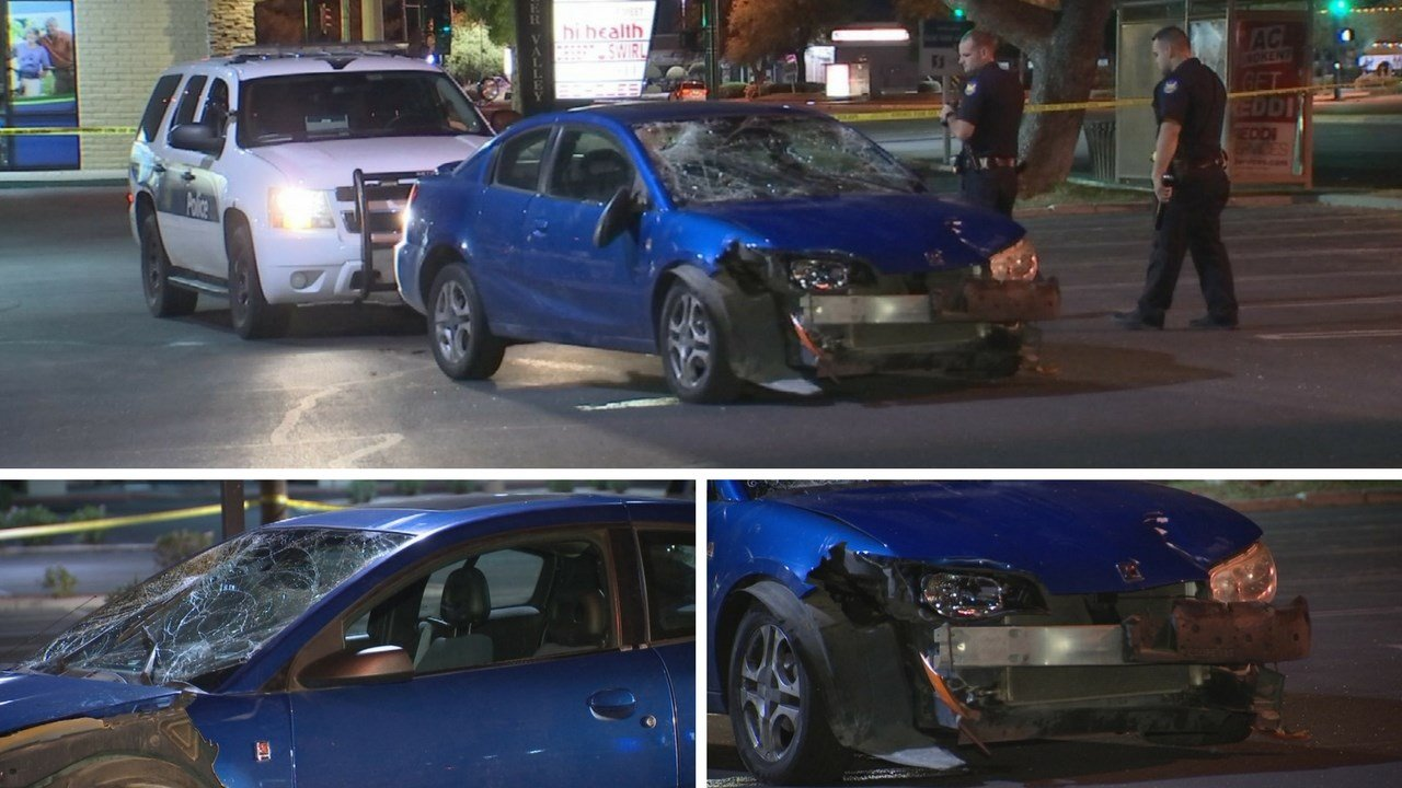 Witnesses told officers that the collision occurred after an argument between two groups and may have been an intentional act. (Source: 3TV/ CBS 5)