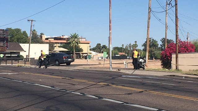Two people were seriously hurt after a crash in Phoenix. (Source: 3TV/CBS 5)