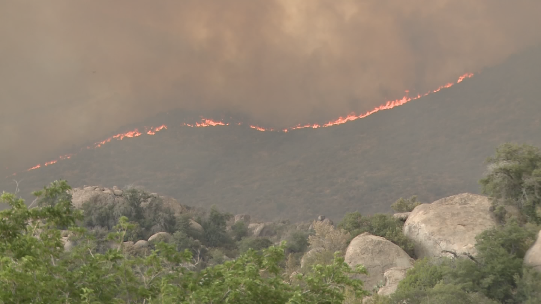 Dozens of wildfires are burning in Arizona. (Source: 3TV/CBS 5)