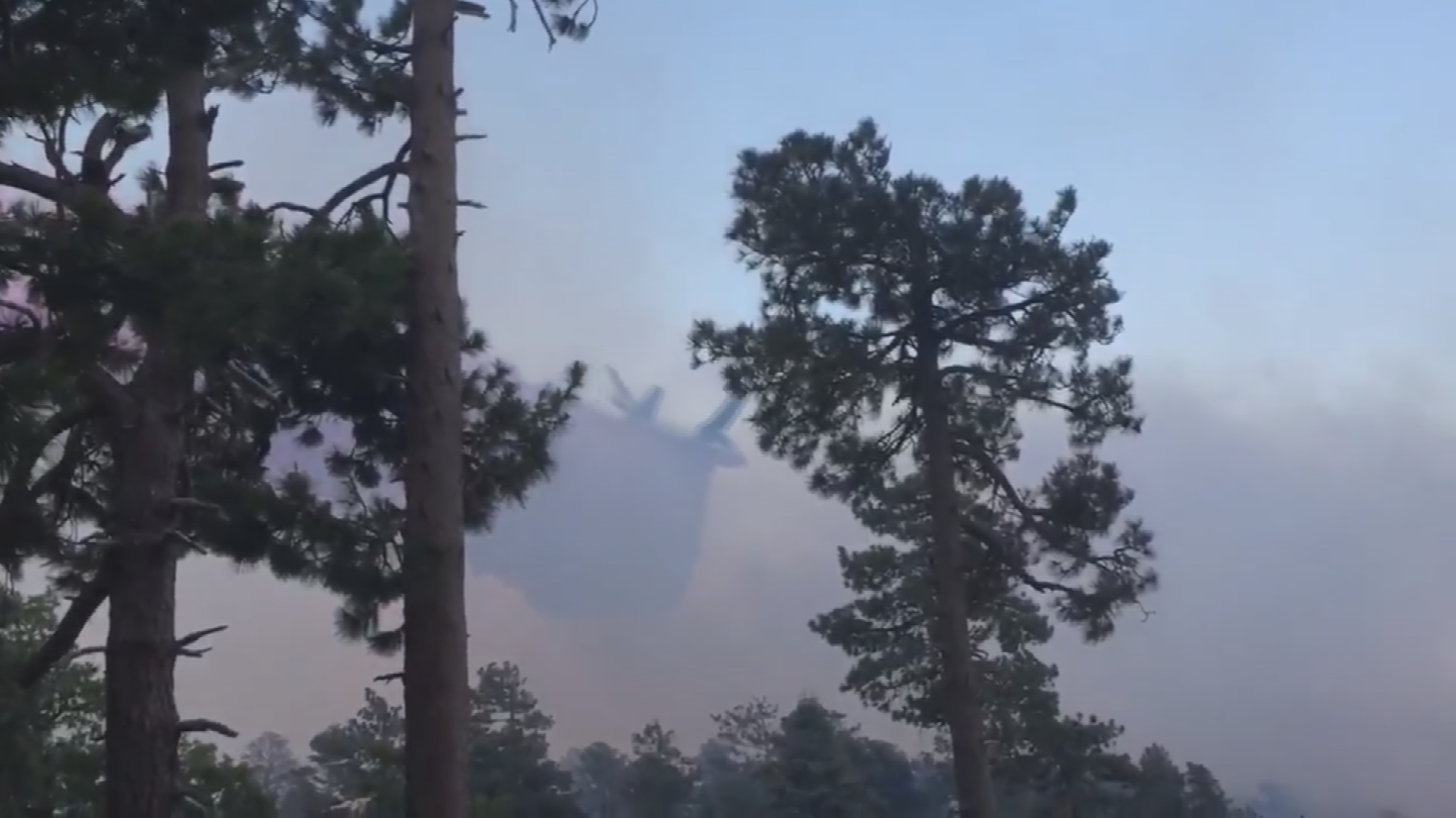 Crews have been fighting the flames from the air and the ground. (Source: Arizona Game and Fish Department)