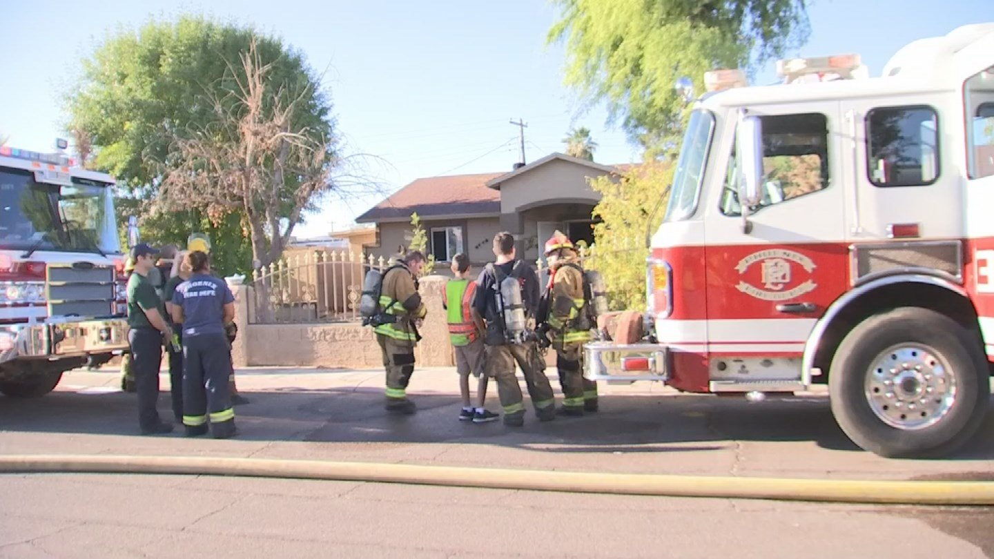 Phoenix fire said no one was injured. (Source: 3TV/CBS 5)