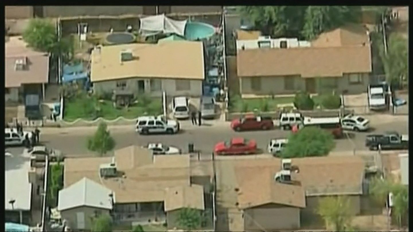 Members of a Phoenix family awoke to a disturbing discovery in their home: A 10-year-old girl who lived there was dead inside a padlocked plastic storage box. (Source: 3TV/CBS 5 2011 file photo)
