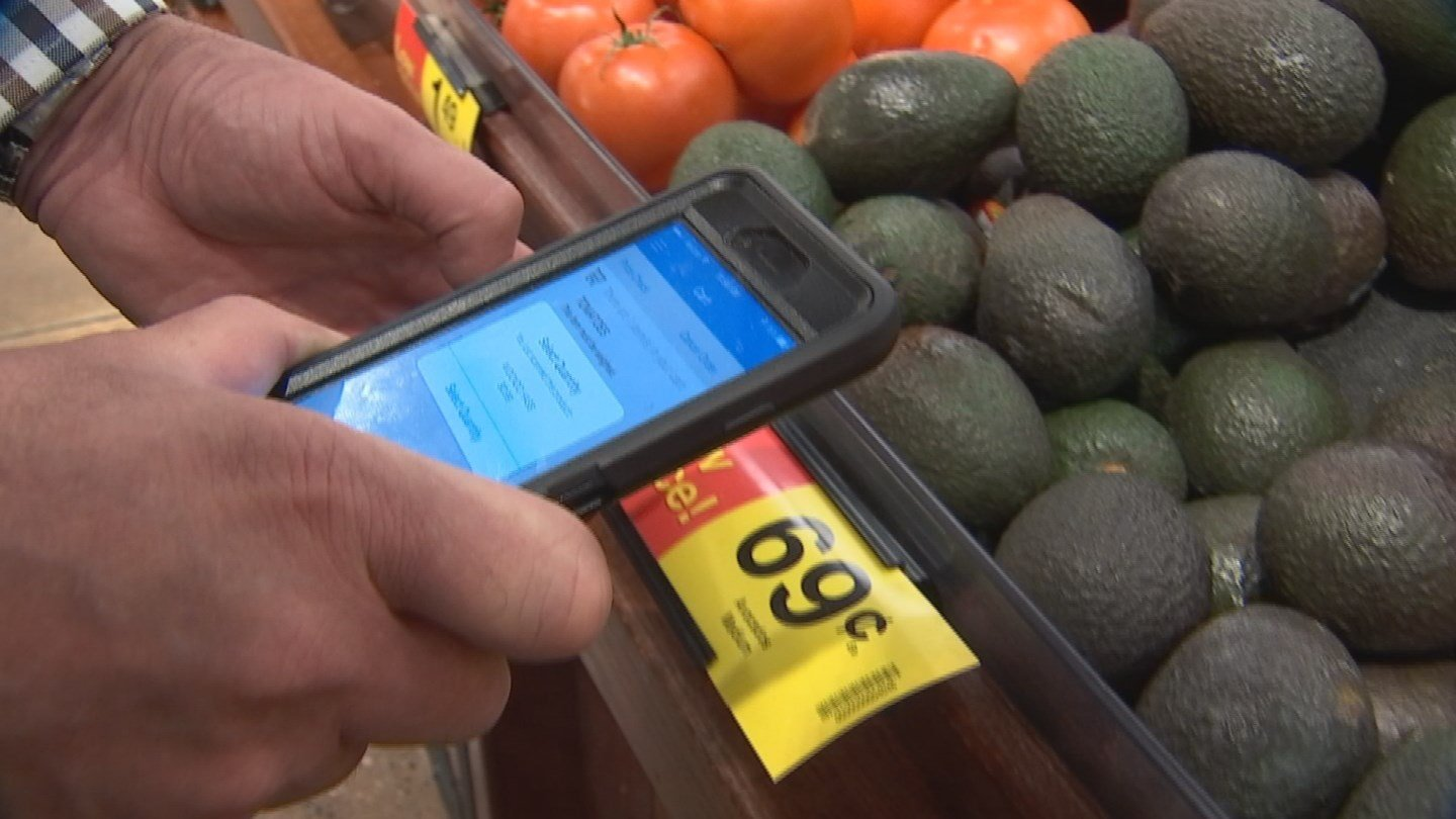 Customers can use the Scan Bag Go mobile app or in-store scanners.
