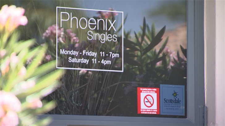 For nearly $3,800, Phoenix Singles took photos of Gray and activated her profile for men to review but she says no men in her parameters wanted to date. (Source: 3TV/CBS 5)