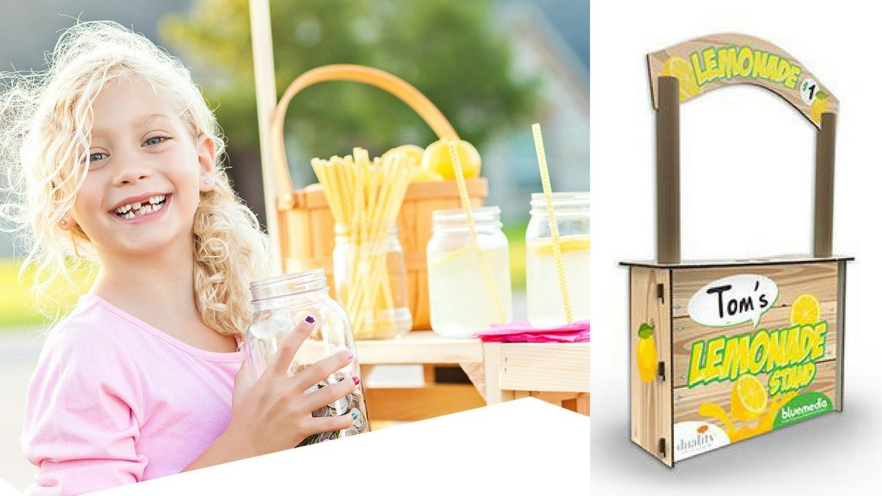 Tempe-based bluemedia is donating 100 lemonade stands to kids this summer. (Source: bluemedia)