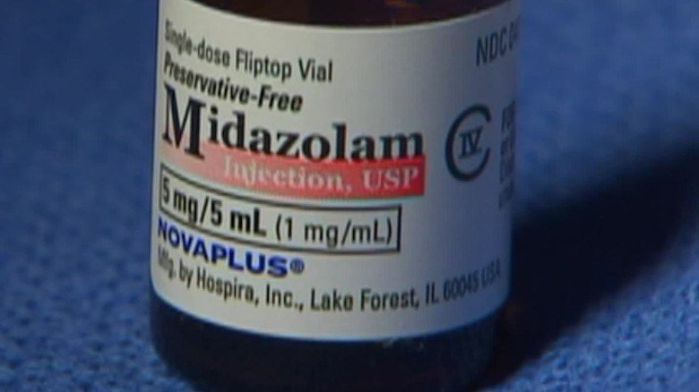 In January, the state agreed to settle part of the lawsuit that claimed the use of the midazolam doesn't ensure that inmates won't feel the pain caused by another drug in a three-drug combination.(Source: CNN)