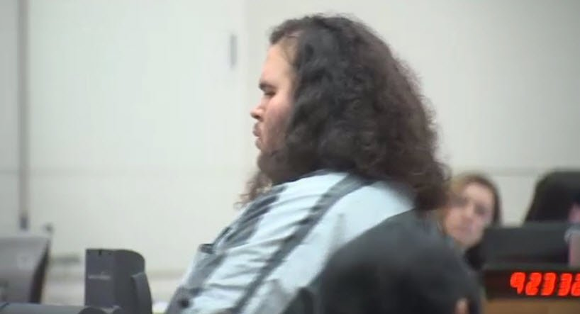 Matthew Sterling, 29, at his arraignment on Tuesday. (Source: 3TV/CBS 5)