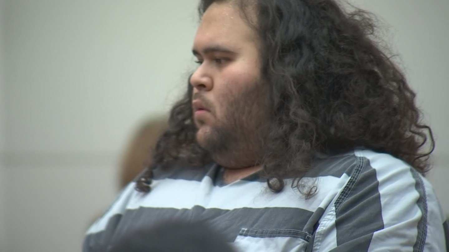 Matthew Sterling at his arraignment on Tuesday. (Source: 3TV/CBS 5)