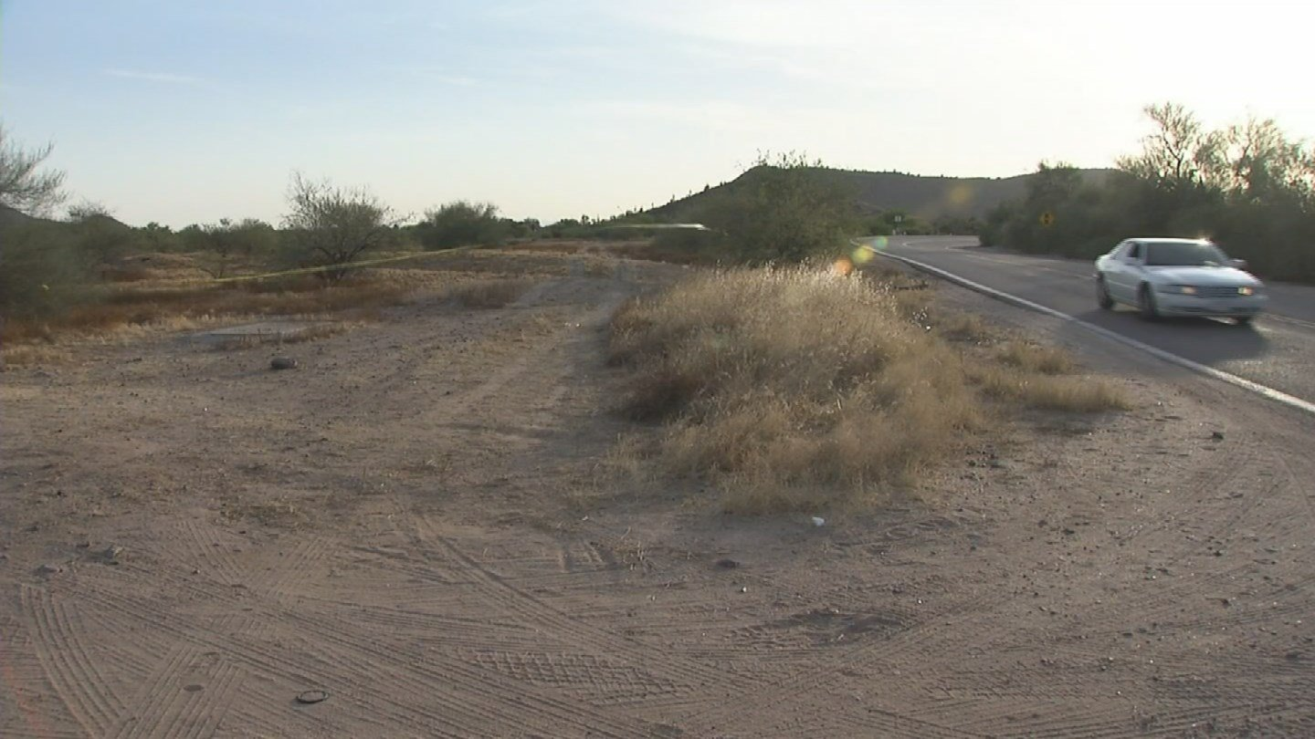 A deceased man was discovered by a passerby on Saturday in a desert area near Cave Creek and Pinnacle Peak roads. (Source: 3TV/CBS 5)