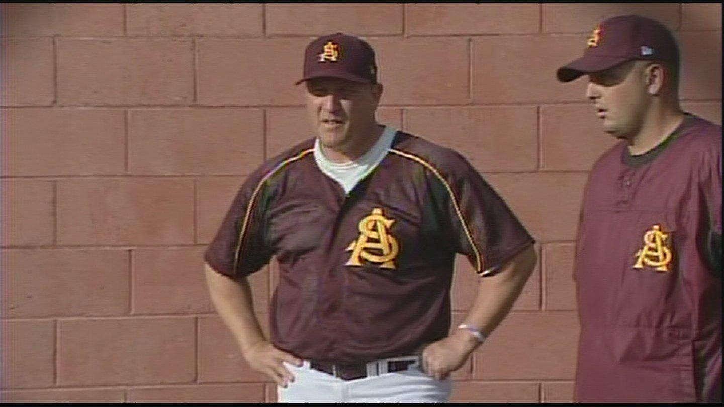 Murphy lead ASU to four College World Series appearances but was forced to resign or be fired in 2009. (Source: 3TV/CBS 5)