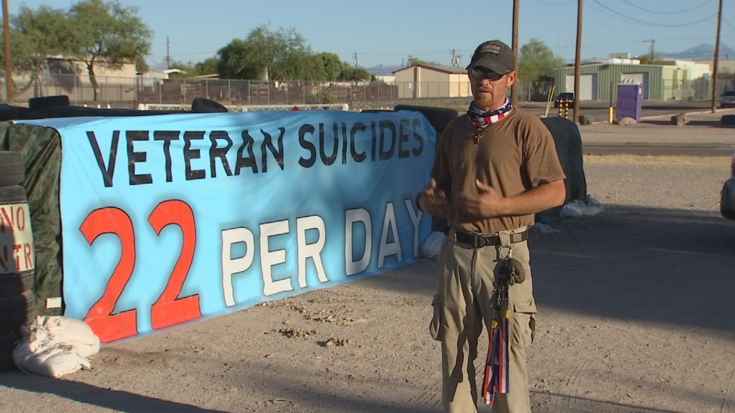 Since that 2015 display, Arthur says they've helped hundreds of veterans through their patrol program and beyond. (Source: 3TV/CBS 5)